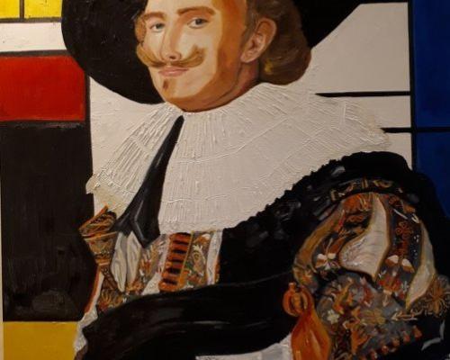 Frans Hals meets Mondriaan